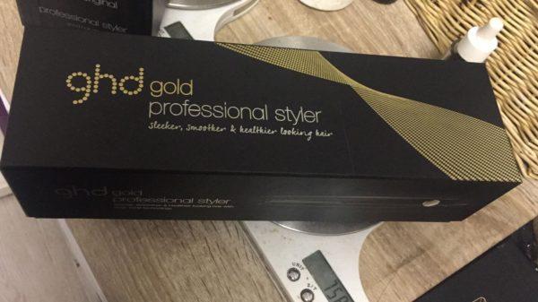 Plancha para el pelo gold