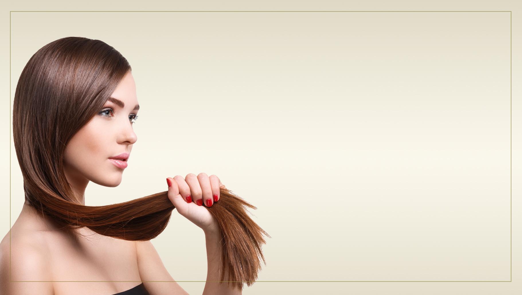 Mujer de pelo castaño