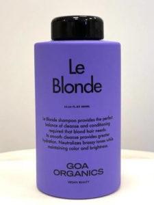 GOA organics Leblonde