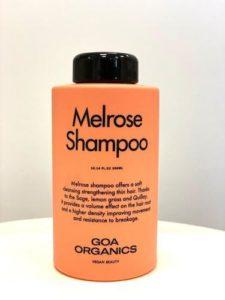 GOA organics Melrose shampoo