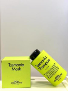 GOA Organics Tasmania shampoo y mask